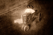 Tractor Photos - Like Father Like Son by Tom Mc Nemar
