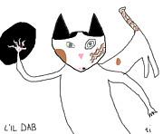 Lil Dab Print by Anita Dale Livaditis