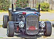 Ron Roberts Photography Greeting Cards Prints - Lil Roadster Print by Ron Roberts