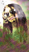 Lil Wayne Digital Art - Lil Wayne Purple Haze by Chuck Styles