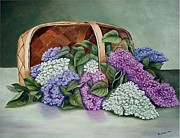 Fran Brooks - Lilac Basket