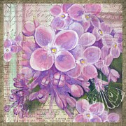 Sharon Marcella Marston - Lilac Collage