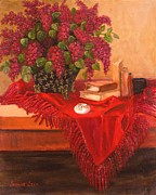 Jeanene Stein - Lilacs and Ceramics
