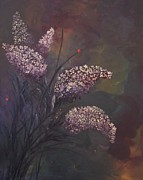 Rhonda Clapprood - Lilacs and Ladybugs