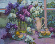 Diane McClary - Lilacs and Tea