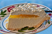 Passion Fruit Photo Prints - Lilikoi Cheese Pie Print by Dan McManus