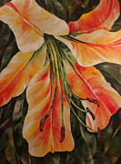 Deep Painting Originals - Lilium by Natasha Denger