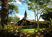 Lili Photos - Liliuokalani Church - Haleiwa Hawaii by Craig Wood
