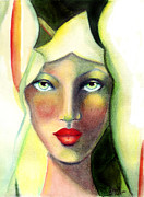 Watercolour Mixed Media Originals - Lilleth by Rosy Hall