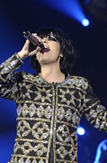 Singer Songwriter Photos - Lily Allen by Jenny Potter