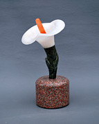 Granite Sculptures - Lily by Leslie Dycke
