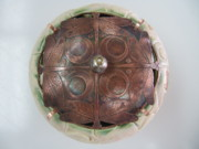 Stoneware Sculptures - Lily Pond by Brenda Berdnik