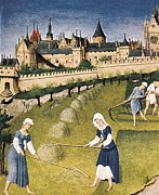 Societies Framed Prints - Limbourg, Jean Ca. 1370-1416 Limbourg Framed Print by Everett