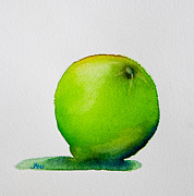 Fruit Tree Art Prints - Lime Study Print by Jani Freimann