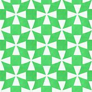 Lime Twirl Print by Linda Woods