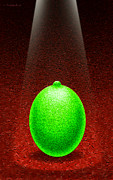 Lime Posters - Limelight Poster by Cristophers Dream Artistry