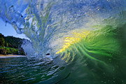 Ocean Photo Prints - Limelight Print by Sean Davey