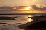 Lincoln Photos - Lincoln City Sunset by John Daly