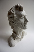 President Sculptures - Lincoln by Derrick Higgins
