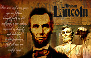 Emancipation Digital Art - Lincoln by Greg Sharpe