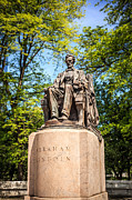 Lincoln Photos - Lincoln Head of State Statue in Chicago by Paul Velgos