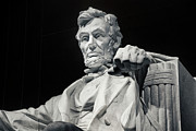 Historic Statue Prints - Lincoln Print by Joan Carroll