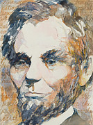 Slavery Painting Prints - Lincoln Legacy Print by Beverly Berwick
