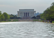 Lincoln Photo Originals - Lincoln Memorial 1 by Tom Doud