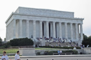 Lincoln Photo Originals - Lincoln Memorial 2 by Tom Doud