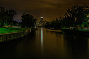 Refelctions Photos - Lincoln Park Lagoon by Randy Scherkenbach