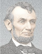 Paul Van Scott - Lincoln Quotes Mosaic