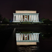 Lincoln Reflection Print by Metro DC Photography