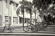 Street View Framed Prints - Lincoln Road Framed Print by Rudy Umans
