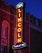 Christopher Fridley Prints - Lincoln Theatre Print by Christopher Fridley