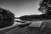Lincoln Photo Originals - Lincoln Trail State Park BW by Michael Ver Sprill