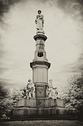 Infrared Prints - Lincolns Gettysburg Address Site - toned Print by Paul W Faust -  Impressions of Light