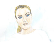 Canyons Paintings - Lindsay Lohan by Sabina Mollot