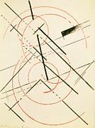 Lyubov Sergeevna Popova - Linear Composition