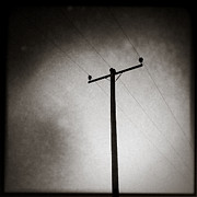 Iphone Photos - Lines of Communication by David Bowman