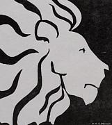 M C Sturman - Lion graphic king of...
