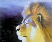 Pride Paintings - Lion King by Lisa Lea Bemish