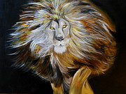 Lion Of Judah Print by Amanda Dinan