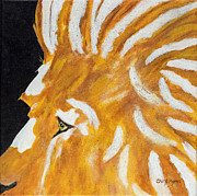 Lion Of Judah Paintings - Lion of Judah  by Cheryl Hymes