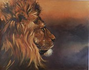 Robert Teeling - Lion Portrait