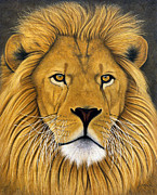 Captivity Mixed Media Prints - Lionel Print by Lawrence Supino