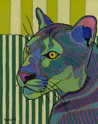 Cat Originals - Lioness Redressed by David  Hearn