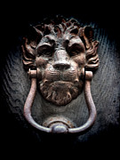 Ornate Art - Lionman Knocker by Karen Lewis