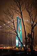 Lions Gate Bridge Print by Jorge Ligason