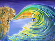 Gateway Paintings - Lions Gateway by Teresa Gostanza