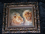 Featured Ceramics - Lions by Pat McClendon